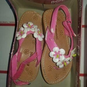 No boundaries little girl sandals